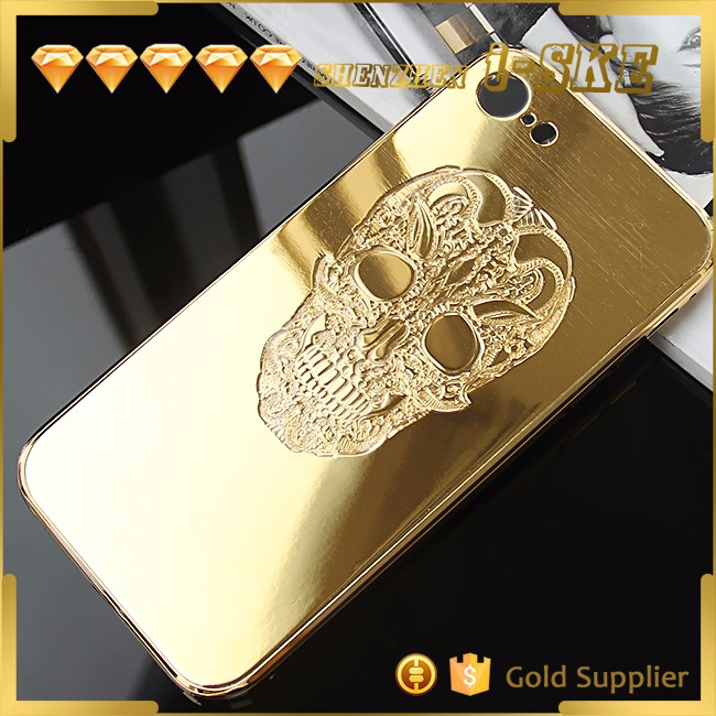 NEW Arrival luxury gold-plated case for iphone 7 plus gold case