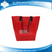Custom patterns hot sale plastic soft pvc plastic handbag