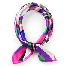 Alibaba China Wholesale Solid Color printed silk scarves ladies