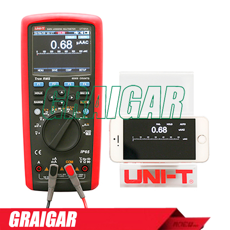 UNI-T UT181A True RMS Datalogging Multimeters 60000 COUNTS DMM Capacitance Meter