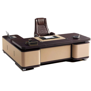 Buy luxury manager office table executive office furniture for deputy directors ceo desk office modern design from China F62