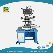 Plane and cylinder hot foil stamp printing machine for plastic business card and tarpaulins