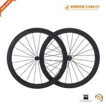 2 years warranty chinese 50mm carbon wheels 700C clincher Road bicycle wheelset