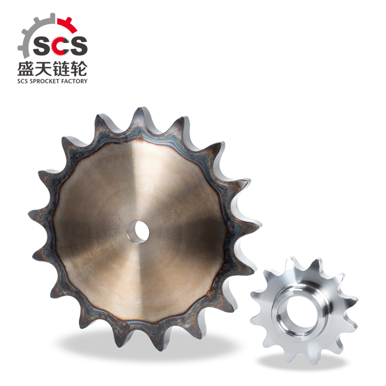 Forged steel roller chain large sprockets with customized size