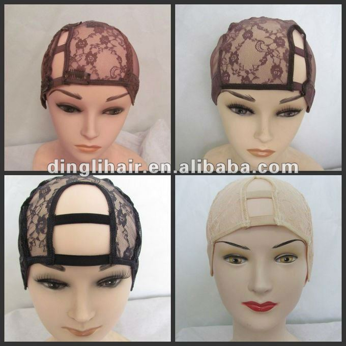 Wholesale price wig cap without hair lots in stock