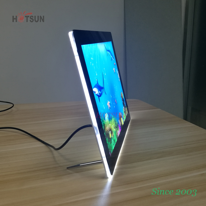 Led Acrylic Photo Frame A2 A3 A4 A5 Lighting Up Acrylic Picture ...