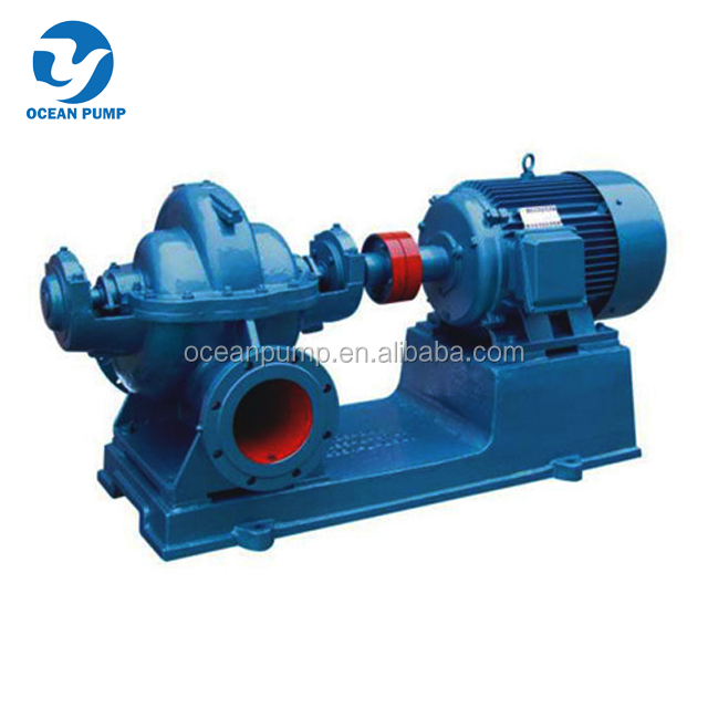 double suction split case water pumping machine with high capacity