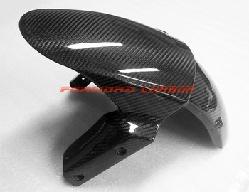 Quality Carbon Fiber Motorcycle Parts Front Fender For Kawasaki