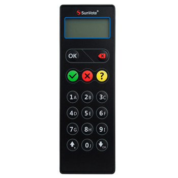 SunVote Wireless Electronic  Voting Devices