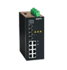 Fast 8 port layer 2 POE industrial Ethernet switch