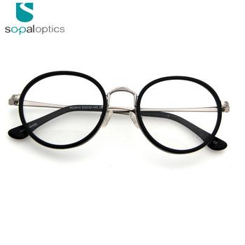 77e0fd163157 The Italian eyewear brands latest custom round glasses frames lens spectacle  frame for girls