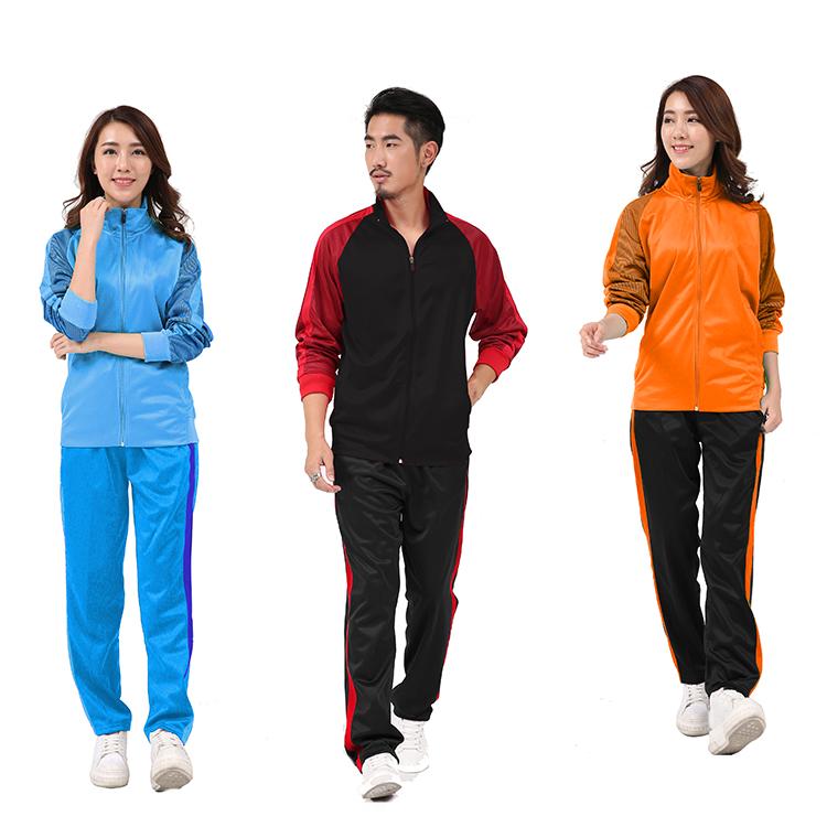 Fabric for sportswear design slim fit quality purple velour training tracksuit wholesale