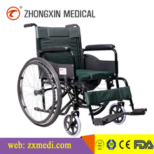 outdoor foldable handicapped commode steel electric wheelchairs for sale