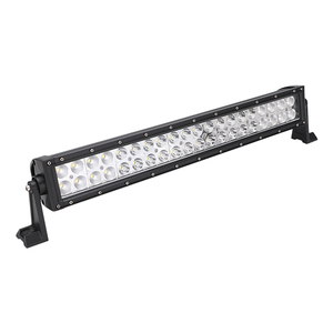 Powerful 288W 300W Remote Control Dual Row White&Amber Offroad Driving LED Light Bar 24v