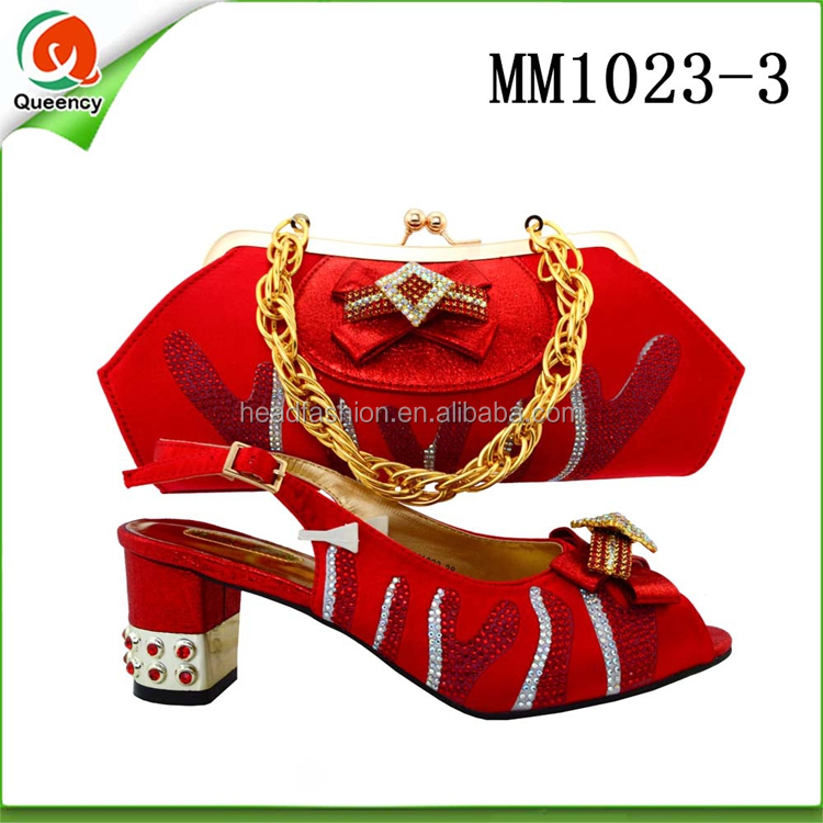 Party and Style Matching Italian Queency Bag Women in for Shoe BCH21 Wine African 1Z6AAp