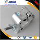 Single aluminium clamp for tube clamp