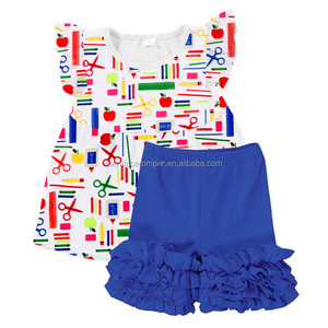 d2a9a729b kids back to school wholesale kids clothing sets baby clothing