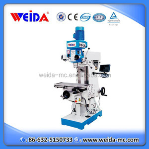 XZX7550CW mini drilling milling machine with sino dro,universal mini milling machine for sale