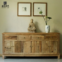 Wooden work reproduction furniture antique furniture Reclaimed Decoration Storage Reclaimed Solid Cabinets