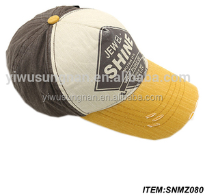 Promotional Logo Printed Cheap Denim Baseball Cap
