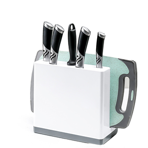 New arrival hot selling high quality plastic cutting board and knife kitchen holder
