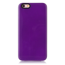 Wholesale unbreakable purple clear rock phone case