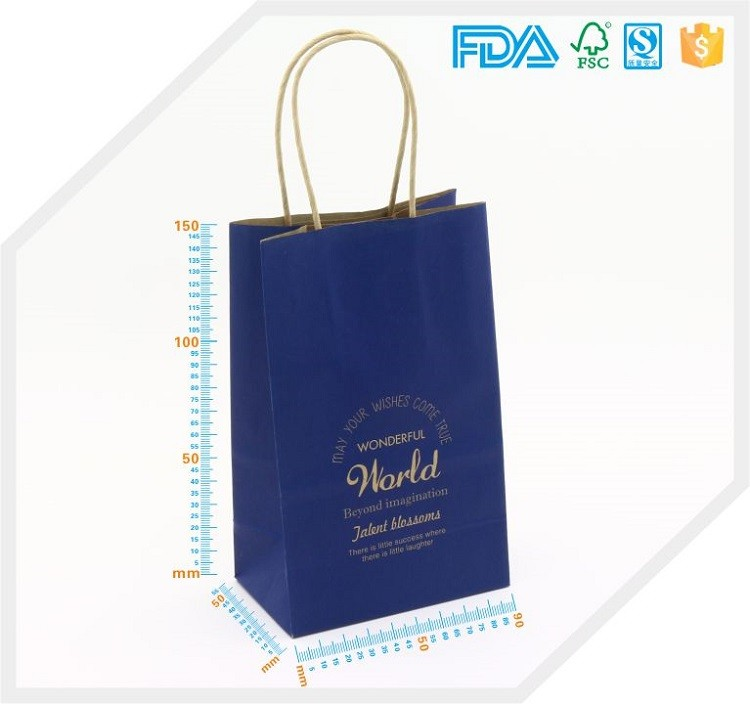 Normal Size Biodegradable Tote Eco Foldable Smart Paper Shopping ...