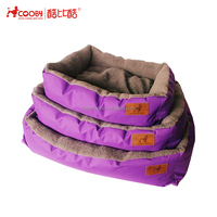 New Pet Products Soft colorful different size pet beds