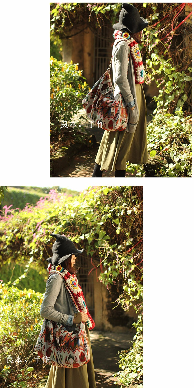 Canvas Leather Trim Travel Tote Duffel shoulder handbag Weekend Bag (3)
