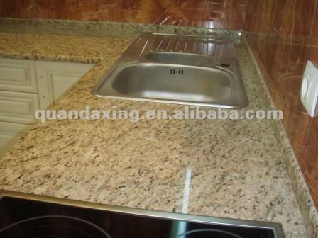kashmir gold granit k chenarbeitsplatte f r home depot tischplatte badschrank platte. Black Bedroom Furniture Sets. Home Design Ideas