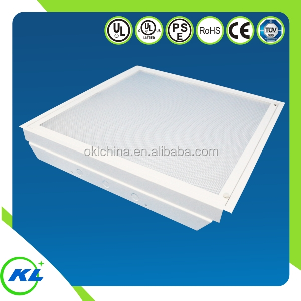UL,cUL,RoHS Quality products office ceiling light T8 60x60 2ftx2 led panel light housing