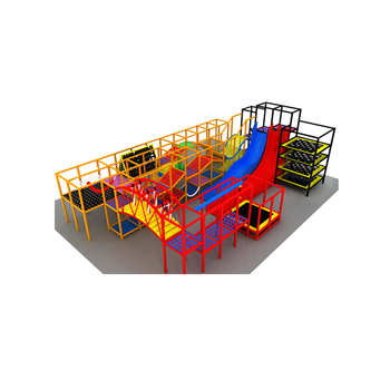 Big Kids Playground Equipment Commercial Indoor Playground For Soft Play Area