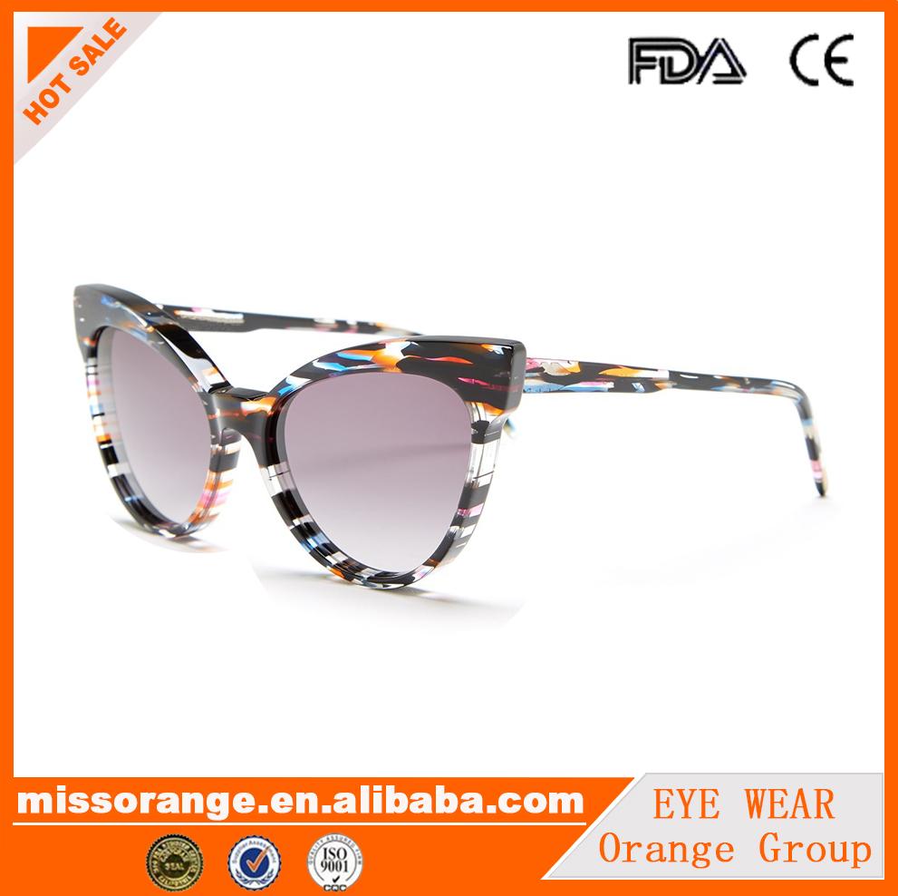 9ec81d3c47 De Acetato Gafas Marcas Sol Lentes Famosas Color Cateye De YpfrYxq