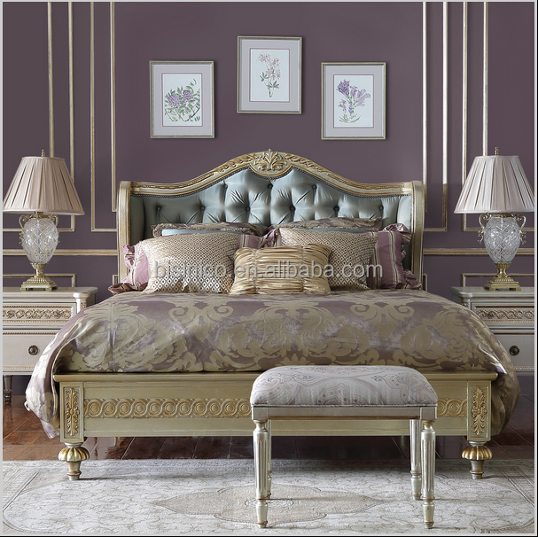 franse stijl reproductie slaapkamer meubilair set, replica ontwerp, Meubels Ideeën