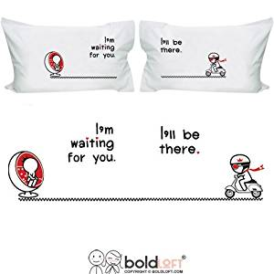 Buy Boldloft Love Is On The Way Couple Pillowcases Valentines Day