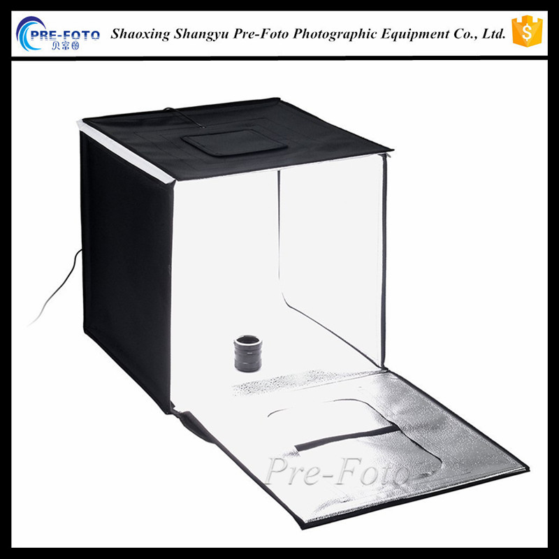 LED 50*50cm Studio-in-a-Box for Table Top Photography - Includes light tent