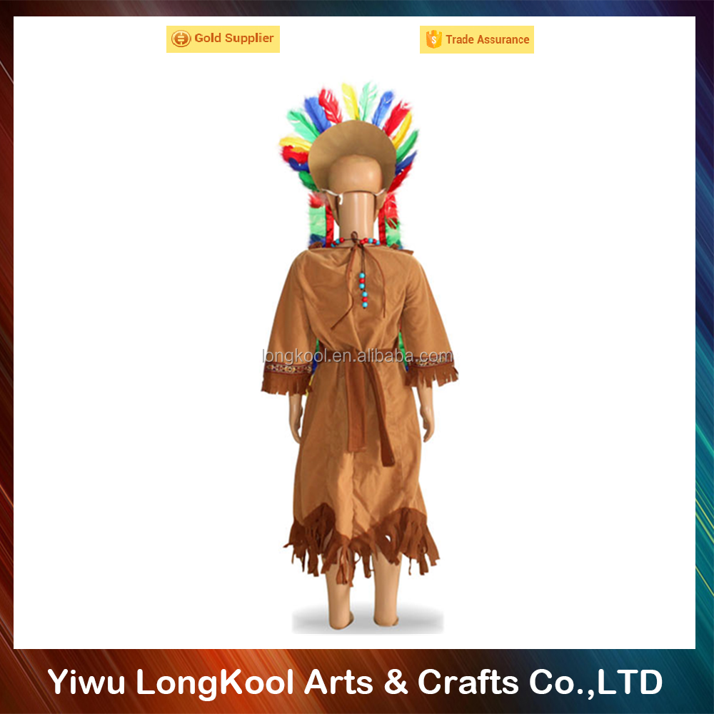 China suppliers direct sale kids party perform costume indian costume