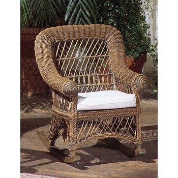 Special Old Style Small Rocking Whole Furniture For Outdoor Activities Kids Rattan Chair