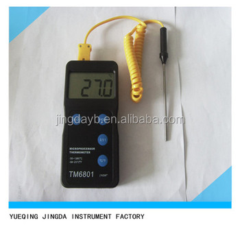Thermomètre Numérique Avec Sonde K,Thermomètre Numérique De Haute Qualité Avec Capteur Et Sonde,Thermomètre Numérique Type K Buy Thermomètre