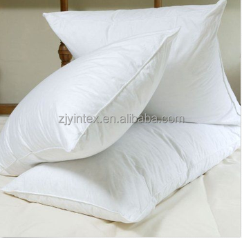 Luxury hungarian goose feather down pillow pair buy for Buy goose down pillows