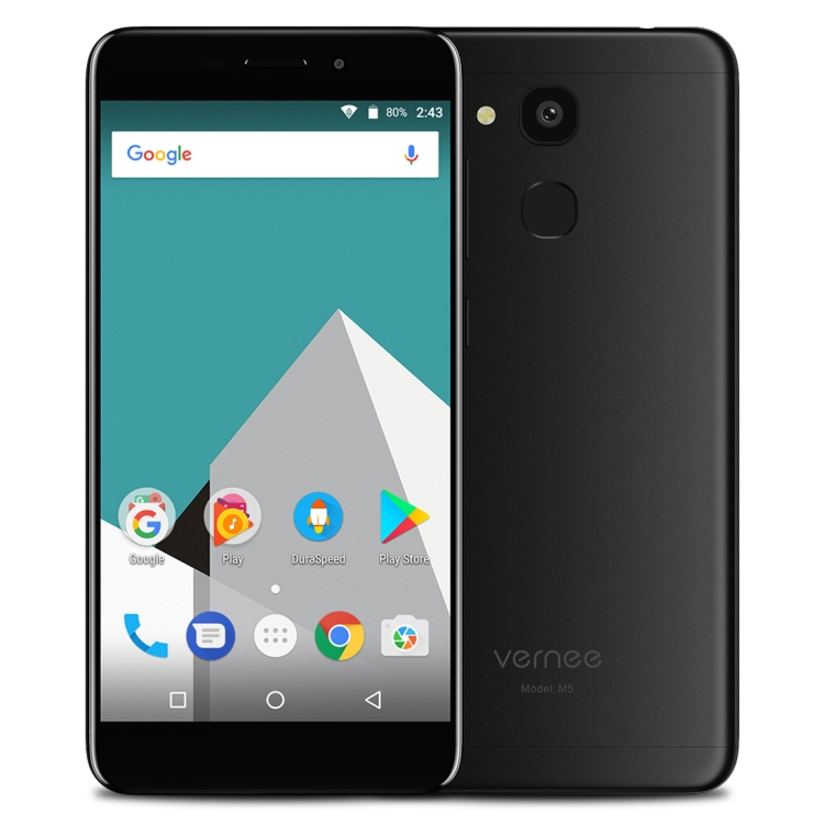 Wholesale dropshipping Vernee M5 ram4GB rom64GB Fingerprint Identification 5.2 inch Android 7.0 4g smartphone