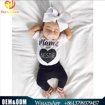 81a755068 Cute Girl Desi Images Infant Clothing Mama Is My Bestie Summer ...