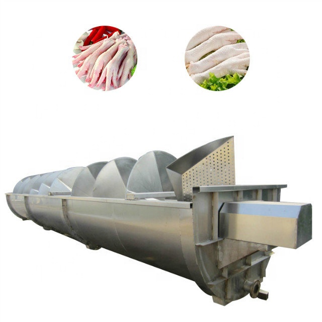 automatic chicken feet and Chicken Feet Peeling Processing Line frozen chicken feet export