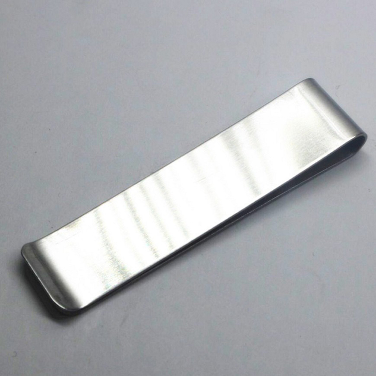 Easy-carry Best 분 지갑 EDC 변경 Clips Stainless Steel Cash/Card Clip Metal 돈 Clips 와 개인 logo