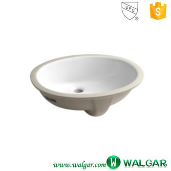 New Oval Slim Hand Wash Basin Vanity Sink Counter Top Wash Basin