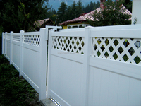 Fencing post and rail Like PVC Fence, White Fencings