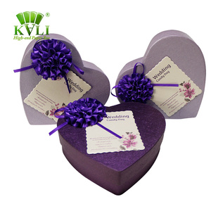 ebac31a8e12f5 Personalized Heart Shape Wedding Favor Box With Paper Gift Card Box  Manufacturer