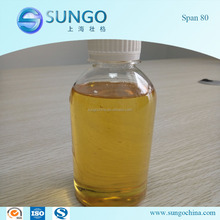 High Quality Surfactant Emulsifier Span 80 for Medicine Food Cosmetics Paint and Chemical Industry