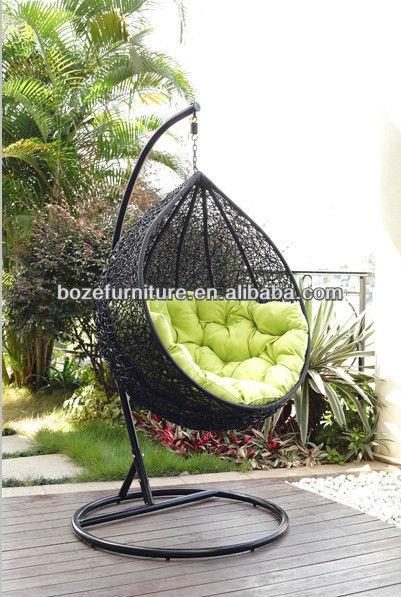 Columpio con coj n muebles de jard n silla de rejilla - Columpios para jardin ...