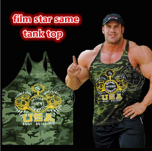 7da56f93129ac 1pcs Mens Cotton Tank Top Sexy Gym Vest Tanks Brand Sport exercise Wear T  Shirts gasp